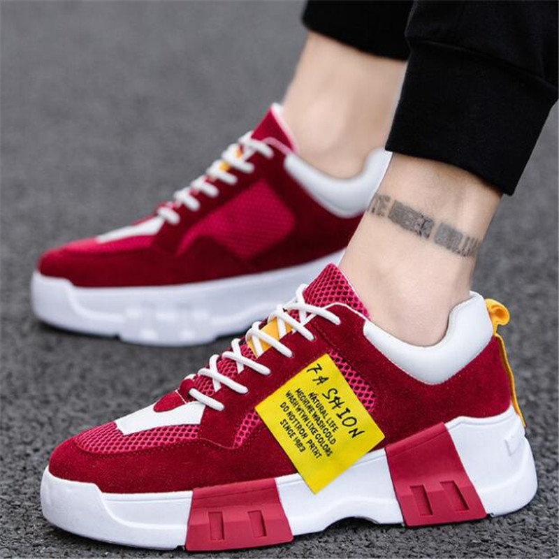 Men Shoes Adult Light Men Sneakers Breathable Casual Shoes Male Zapatos Hombre Men Krasovki Chaussure Homme
