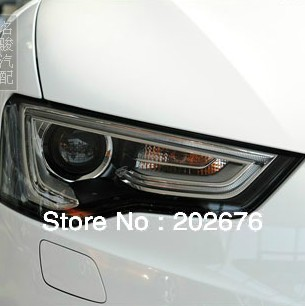 FREE SHIPPING,2012-2013 CHA A5 ANGEL EYE HEADLIGHT HEADLAMP, WITH LED DAYLIGHT AND BI-XENON PROJECTOR, FOR AUDI