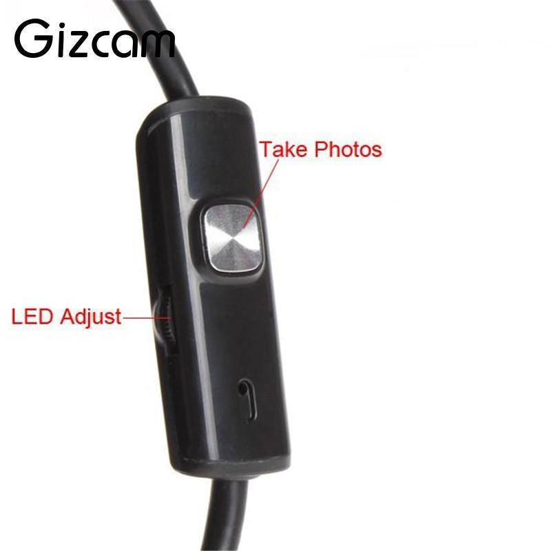 Gizcam Mini USB Endoskop IP67 Vattentät Borescope Micro Camera Snake - Kamera och foto - Foto 5