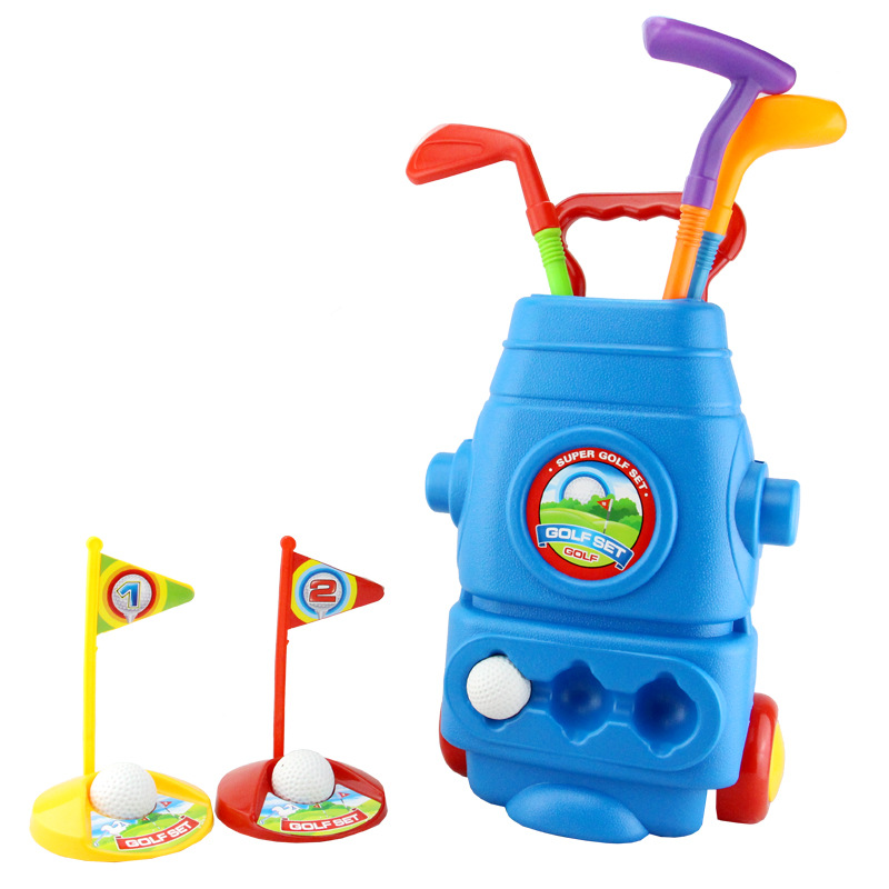 BOHS Toy Golf Club Suite Kindergarten Childrens Outdoor Sports Toys
