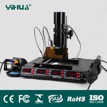 YIHUA1000B BGA Rework Station, Laptop Motherboard Repairing, BGA Machine, Reballing Kit, Welding, IR Station, SMD Tools