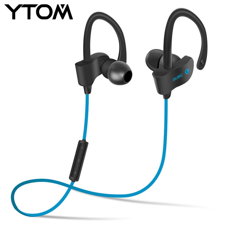 original Bluetooth headset Sports Wireless Bluetooth Earphone Stereo Earbuds Headset Bass Earphones with Mic In-Ear for phone leory l6 wireless bluetooth earphone sports heavy bass v4 0 edr earphones with mic wireless headset ear hook universal 4 colors