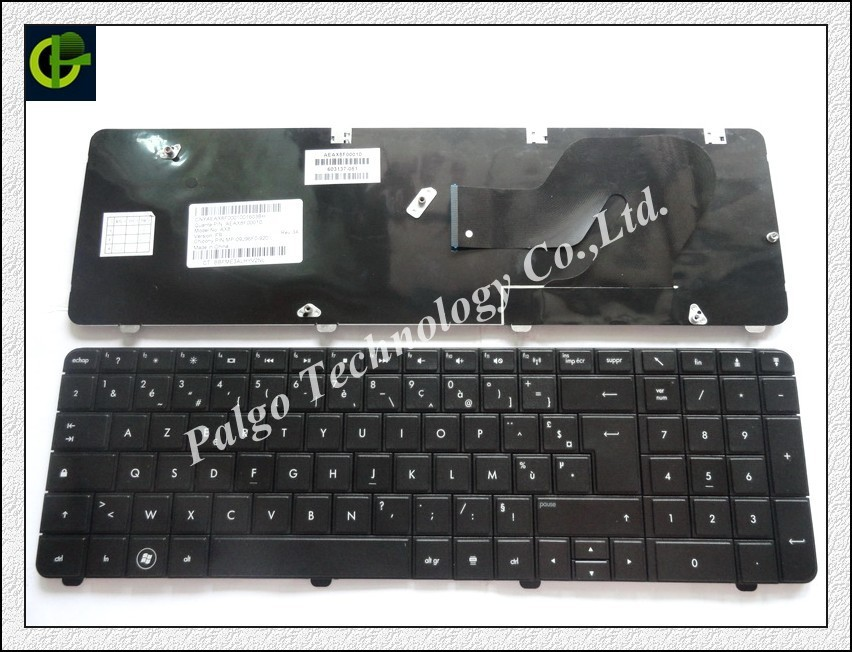 French Keyboard For HP Compaq CQ72 G72 Black FR AZERTY