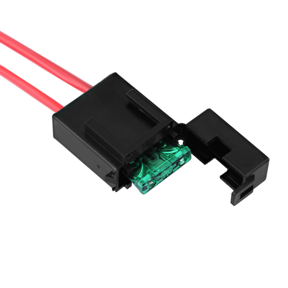 Car Auto ON/Off Switch Wiring Harness 12V 40A Relay 30A Blade Fuse Blade Wire Harness Components on electronic circuit components, torque converter components, speaker components, wire alligator clips electrical,