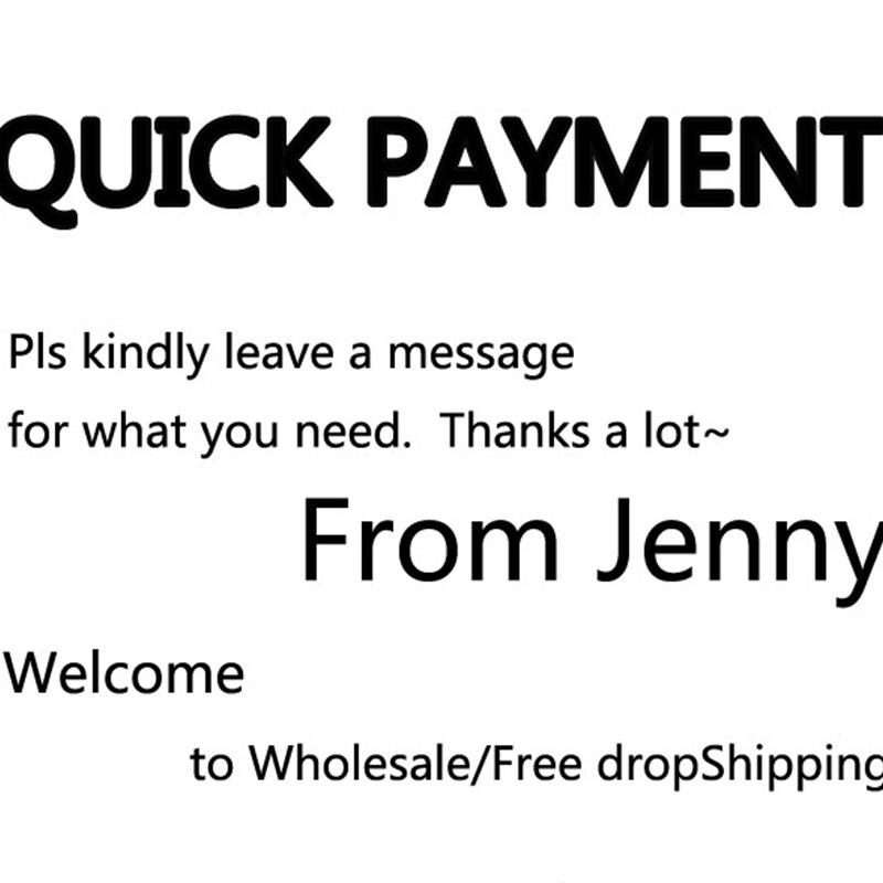 Pago rápido gracias por la compra de JENNY para clientes VIP/envío directo gratuito