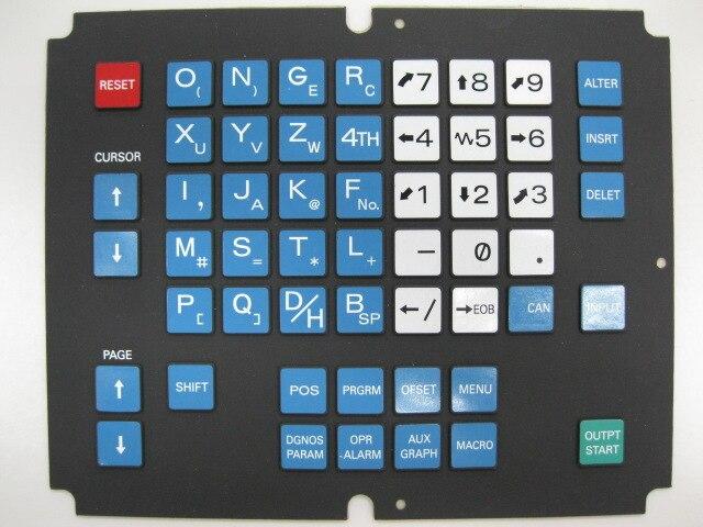 0M series controller CNC fanuc operator panel keypad membrane key board A98L-0001-0568#M Обои