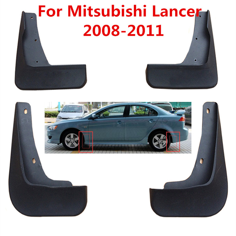 Car Mudguards for Mazda 3 2009 2010 2011 2012 Car Mudguards Fender Splash Guards Mud Flaps Accessories Front and Rear Set of 4Pcs