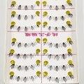 Handmade Cílios Inferiores Parágrafo Maquiagem Nua Naturais Transparente Hastes Cílios Inferiores Natural Make-up Sob Cílios Cruzadas