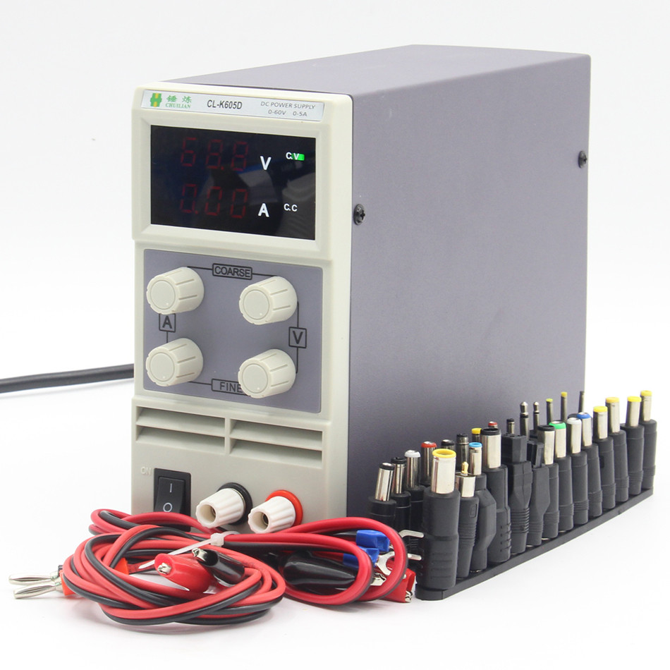 chuilian CL605D 60V 5A Single Channel adjustable Digital 0.1V 0.01A DC Laboratory power supply cps 6011 60v 11a digital adjustable dc power supply laboratory power supply cps6011