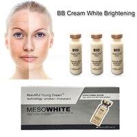 10 шт./компл. BB хайлайтер осветляющая эссенция естественный макияж отбеливающая жидкость Фонд H7JP