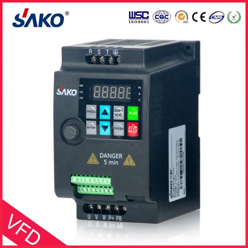 SAKO SKI780 380V 0.75KW/1.5KW/2.2KW Mini VFD variateur de fréquence pour convertisseur de contrôle de vitesse de moteur - 4