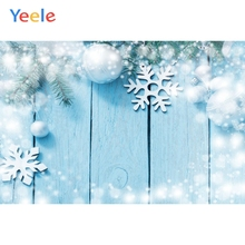 цены на Yeele Christmas Silver Snow Wooden Bred Planks Commodity Show Photography Backgrounds Photographic Backdrops For Photo Studio  в интернет-магазинах