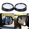 2pcs Universal Driver 2 Side Wide Angle Round Convex Car Vehicle Mirror Blind Spot Auto RearView for All Cars Hot Selling