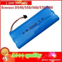 14 4V3500mAh Vacuum Cleaner Battery High Quality Battery For Ecovacs Deebot D523 D540 Deebot D550 D560
