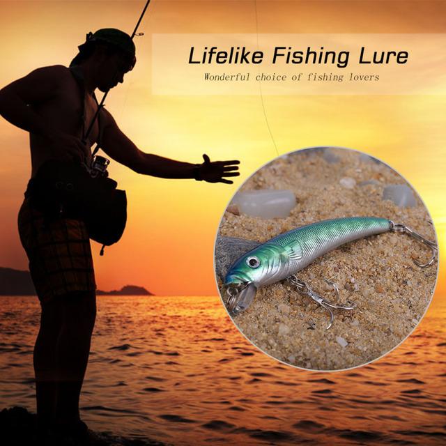 8 kinds Fishing Wobblers Lifelike 2 Hooks Fishing Lure Swimbait Hard Bait Slow Artificial Lures 3D Fishing Tackle free shipping