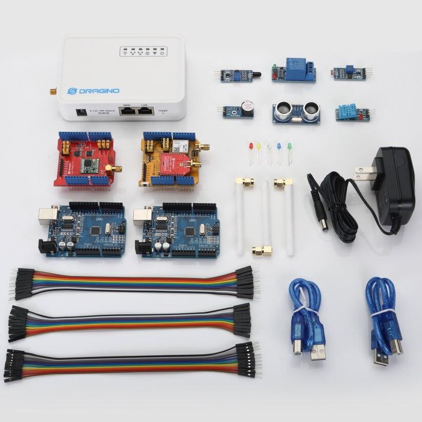 Aihasd LoRa IoT Développement Kit 868 m Fréquence Internet de choses