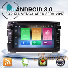 Android 8 Car GPS navigation DVD player For KIA Ceed/Venga radio tape recorder head unit m