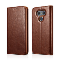Original XOOMZ For LG G6 Case For LG G6 Cover High Quality Luxury Leather Wallet Card