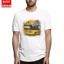 Ayrton Senna T-shirt Unisex High-Q Camiseta 100% Cotton Finland Tees S-6XL Plus Size Homme T Shirt Fashionable Top design