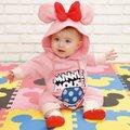 New Mickey Mouse Estilo da Longo-luva de Algodão Macacão Infantil Romper Do Bebê Recém-nascido Meninos Traje Meninas Do Bebê para a Primavera Outono