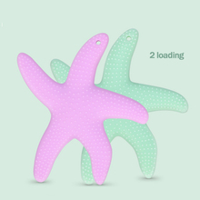 Top Silicone Baby Teether Starfish Shape Dental Care Toothbrush Training