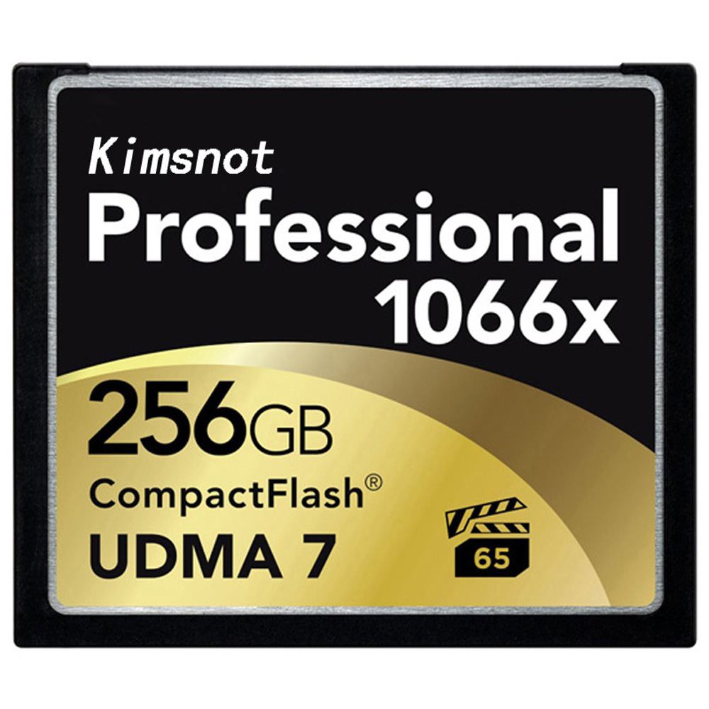 Kimsnot Professional CF Card 64GB 128GB 32GB 256GB Memory Card Compact Flash Cards Compactflash 1066x UDMA7 High Speed 160mb/s