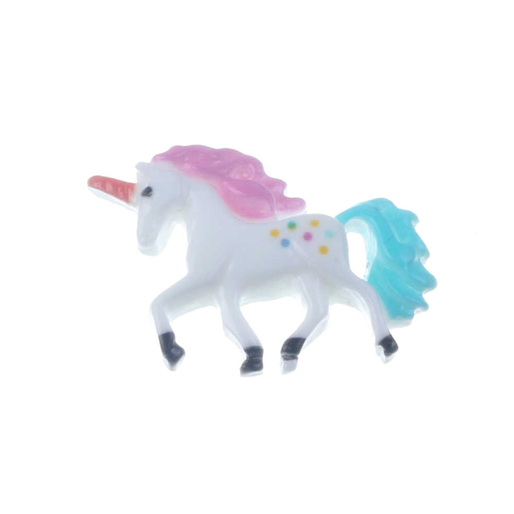 20Pcs Mixed Resin Unicorn Decoration Crafts Flatback Cabochon Scrapbooking Fit Phone Embellishments Accessories