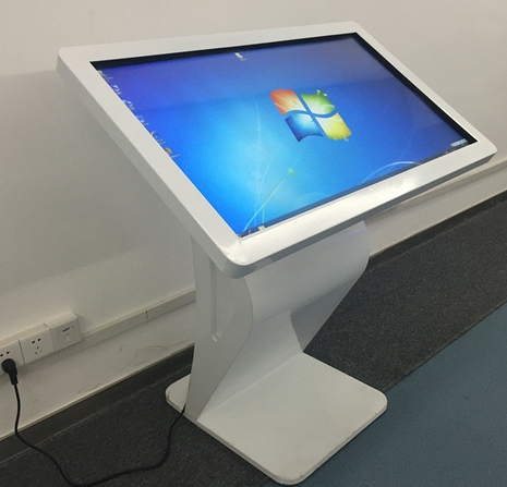 32/42/50 / 55 Inch Touch Screen Kiosk Machine Interactive Lcd Monitor With Webcam Computer Pc Built In
