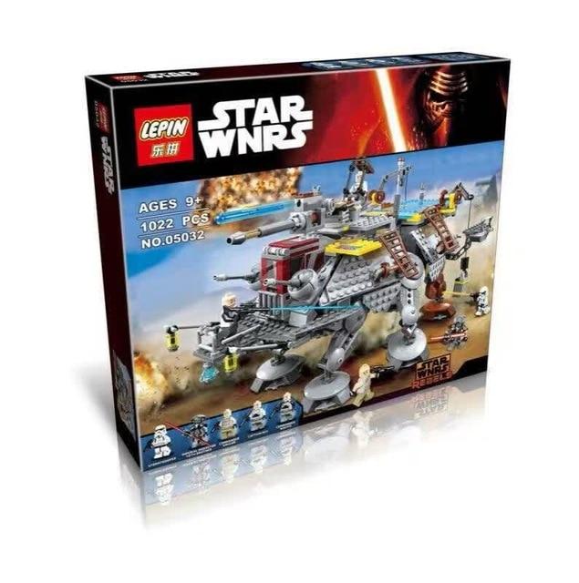 LEPIN-740pcs-Star-Wars-Captain-Rex-s-AT-