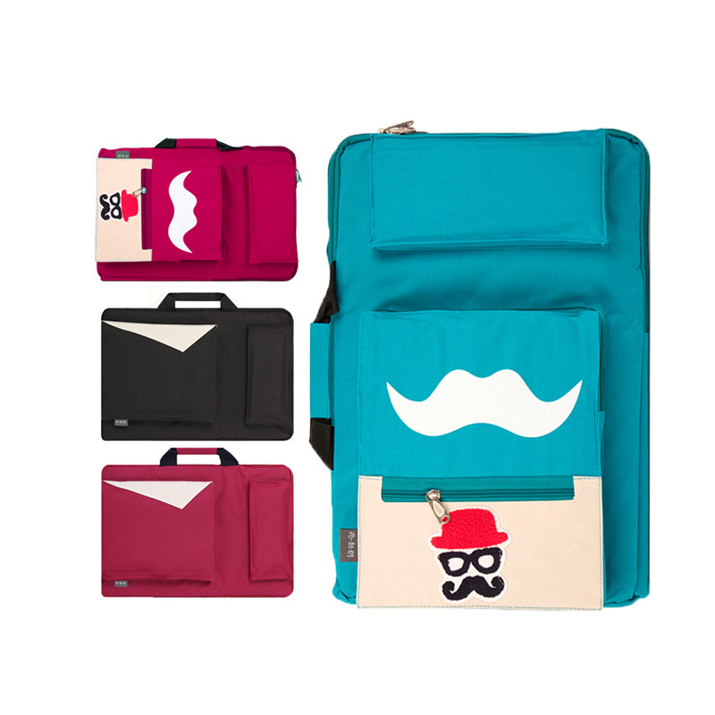 Painting Bag 4K colours Waterproof Oxford Cloth Portable Sketch Board Large Capacity Travel Shoulder Sketchpad Drawing Bag