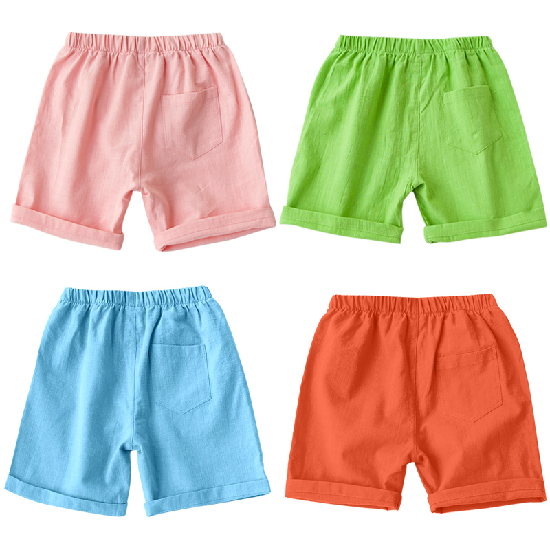 b6a3fba70 2016 Summer Kids Capri Children Pants Boys Beach Pants Shorts for Girls Baby  Linen Pants Casual Shorts Trousers for Boy 3 10Y-in Pants from Mother & Kids  on ...