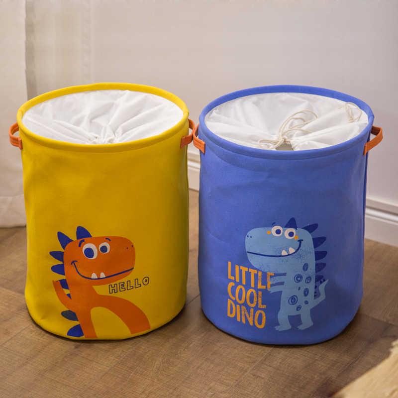 Tyvek سلة الغسيل قماش لعبة صندوق تخزين لصق مرنة القشرة براون حقيبة يد ورقية burlywood الملابس القذرة المنظم بن