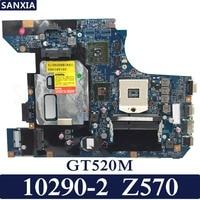KEFU 10290 2 Laptop motherboard for Lenovo Z570 Test original mainboard GT520M