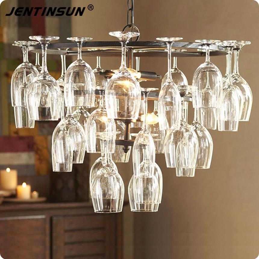 art deco goblet pendant light lamp retro red wine goblet pendant lights hanging lamp for hotel. Black Bedroom Furniture Sets. Home Design Ideas