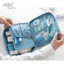 Summer Style Women Makeup Cosmetic Bags Organizer Travel Toiletry organizer toilet Make Up Bag Multi Functional Bolsas HZB-006