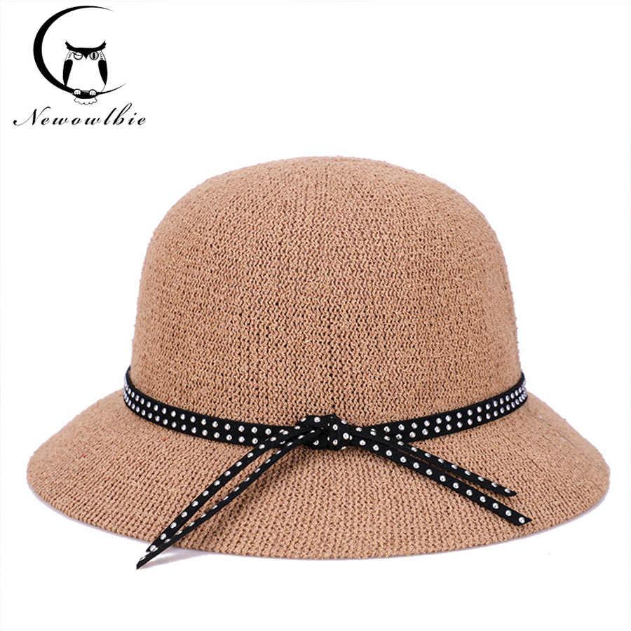 Zomer vizier reizen vakantie gras garen outdoor hoed hoeden for a vrouwen zomer chapeau femme zon hoeden voor vrouwen