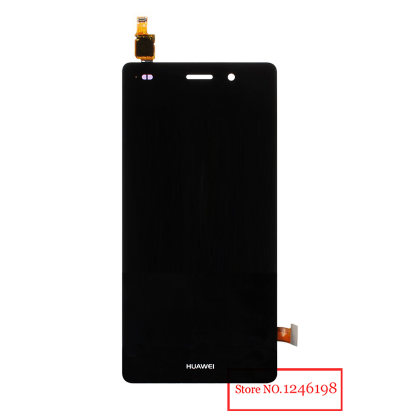 ToP Quality Black Full LCD Display Touch Screen Digitizer Assembly For Huawei P8lite P8 Lite Replacement Parts Free shipping top quality black full lcd display touch