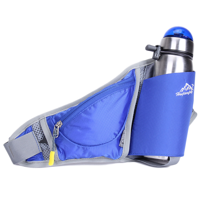 Prix pour 1 Pcs Taille sac Fanny sac Voyage Hydratation Ceinture Bouteille Sac Léger Hommes Femmes de course à pied équitation Poitrine sac