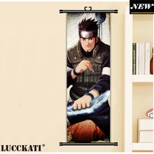 45X135CM Naruto Uzumaki wall picture mural poster scroll cloth canvas painting (16 styles)