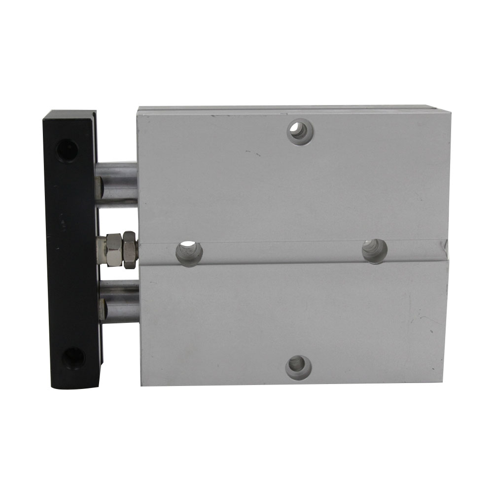 Free Shipping TN Type 32mm Bore 70/80/100mm Stroke Aluminum Alloy Dual Rod Double Action Pneumatic Air Cylinder 1984 ƞ