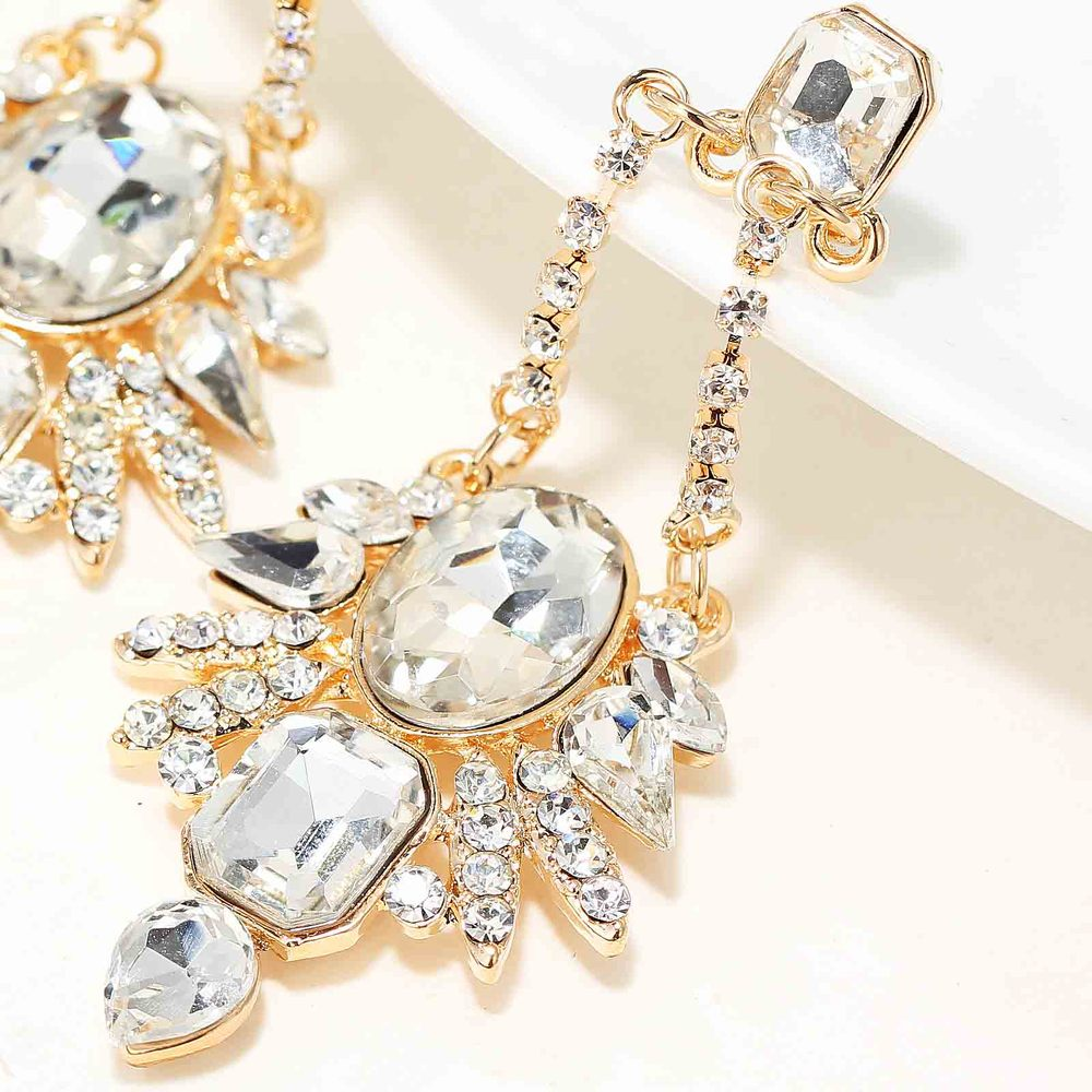 Style 123319 Diamontrigue Jewelry: NEW Women Fashion Jewelry Style Earrings Handmade Glass