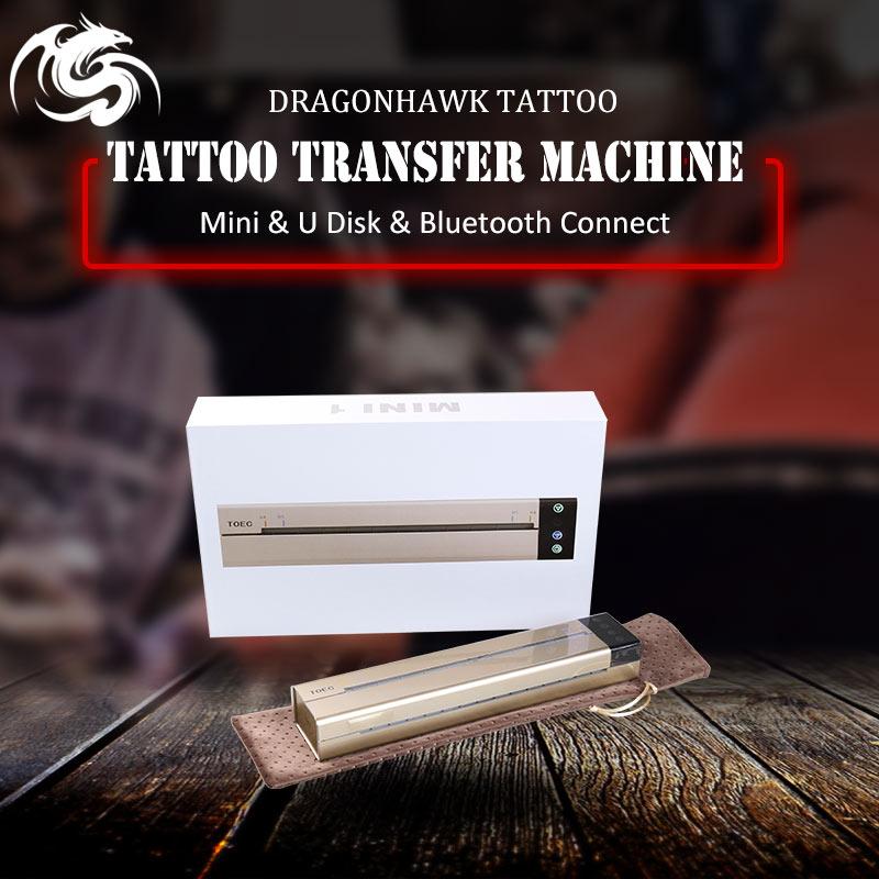 Date Imprimante Tatouage Copieur Imprimante Pochoir De Tatouage Mini Machine De Transfert Thermique Papier