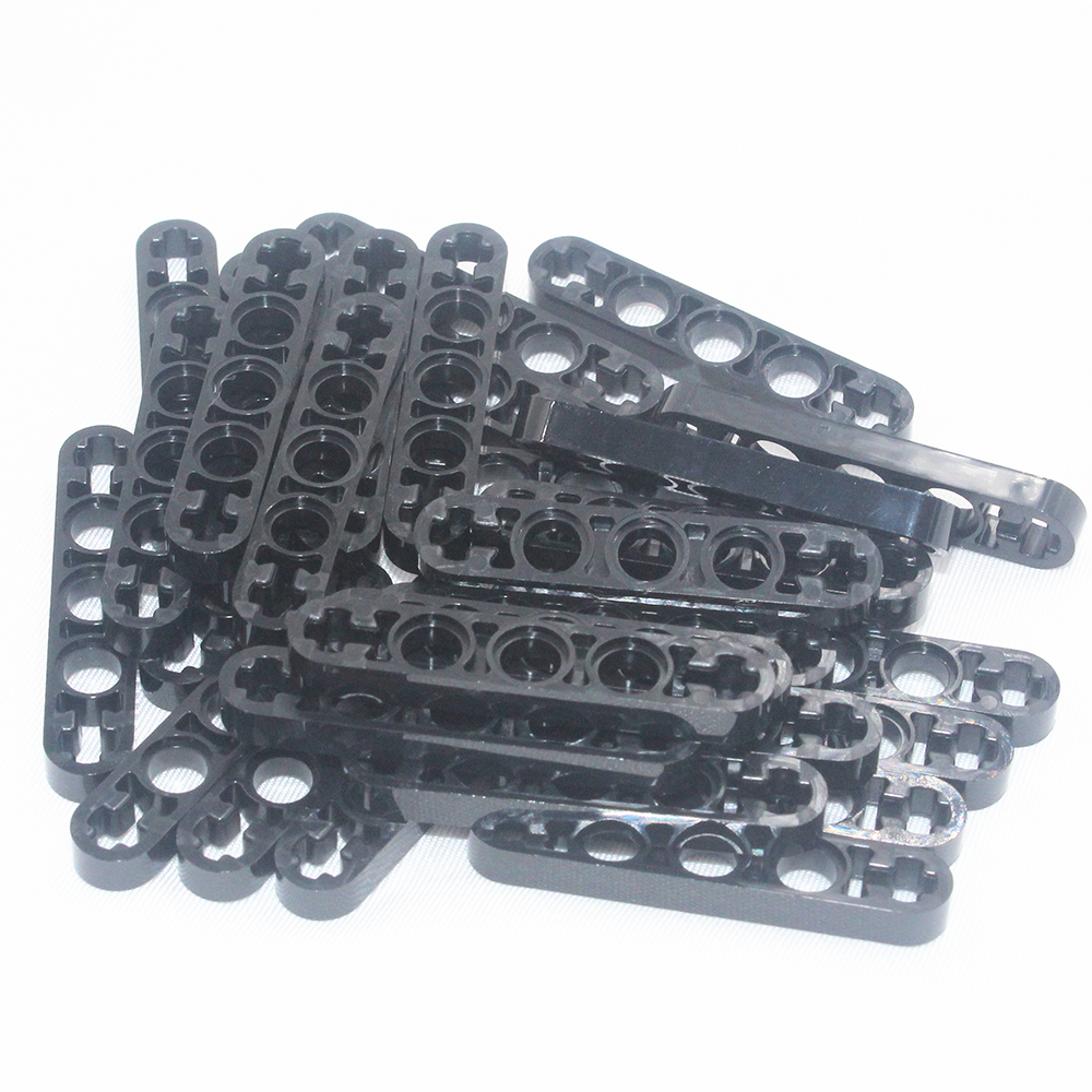 Self-Locking Bricks -- MOC Building Blocks 30PCS TECHNIC LEVER 5M Compatible With Lego