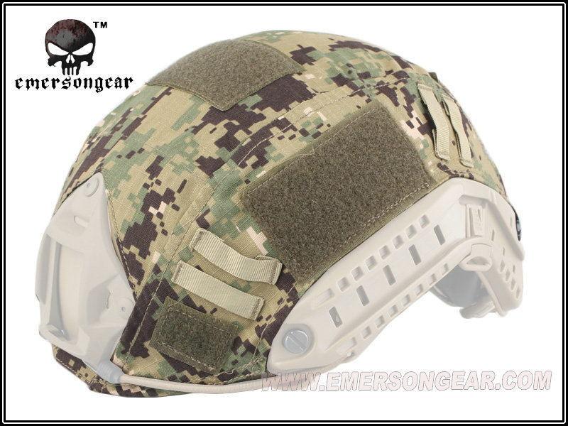 Prix pour Emerson FAST accessoires de casque casque couverture AOR2 EM8825D woodland numérique