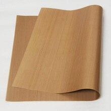 Стекловолоконная ткань анти-масло линолеум высокая температура антипригарная Толстая печь для барбекю ткань для выпечки коврик повторное использование масла бумага 60*40 см