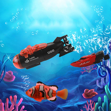 Mini 8cm Cool RC Submarine Speed Boat Toy Smart Boat Drone Indoor Summer Water Toys for Boys Kids Children Simulation Model Gift