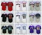 Men's Free shipping Arizona Diamondbacks Randy Johnson all styles Jersey