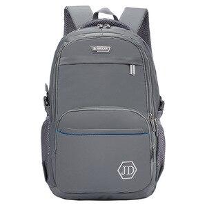 Image 3 - Mochilas escolares ortopédicas para niños y adolescentes, mochilas de espalda gruesa, gran capacidad, impermeables, escolares