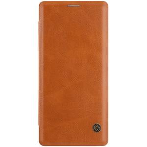 Image 3 - Nillkin Flip Fall Für Samsung Galaxy Note 9 Note9 Qin Serie PU Leder Abdeckung sFor Samsung Galaxy Note 9 Fall