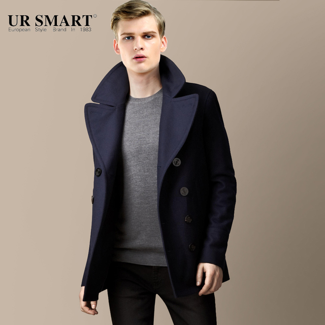Naval Men Short Coat Long...